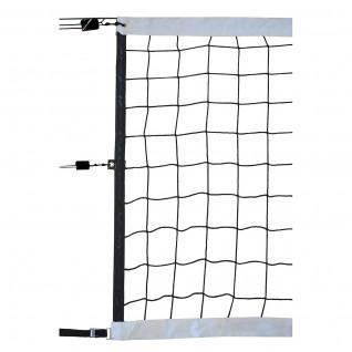 Red de competición de voleibol 9,50x1m pp trenzado 4mm malla simple 100 cable de acero Sporti France