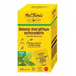 10 sobres de bebida energética antioxidante Meltonic - Menta