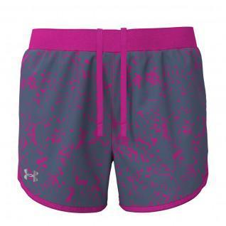Pantalones cortos estampados Under Armour Fly-By 2.0, Mujer