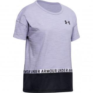 Camiseta de algodón Under Armour Charged para niña
