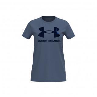 Camiseta Under Armour de manga corta Sportstyle Graphic para mujer