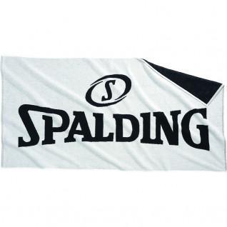 Toalla Spalding blanca/negra