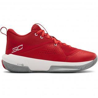 Zapatillas de baloncesto para niños Under Armour GS SC 3ZER0 IV