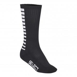 Calcetines altos a rayas de Select Sports