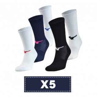 Pack de 5 calcetines Mizuno Multisports