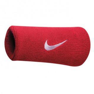 Puños de rizo con doble swoosh de Nike