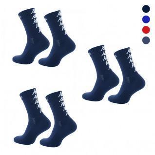 Juego de 3 pares de calcetines Kappa Eleno