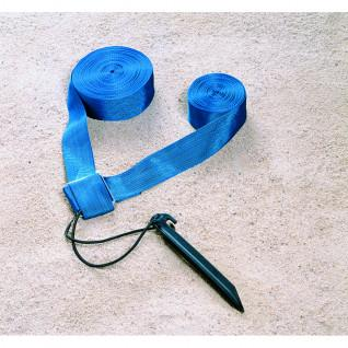 Kit de límites azules de voleibol de playa