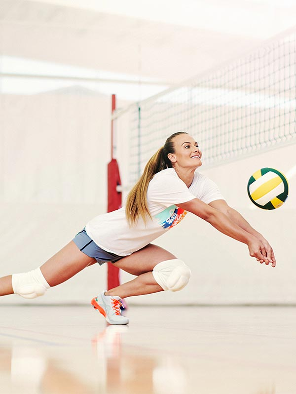 Textil de voleibol